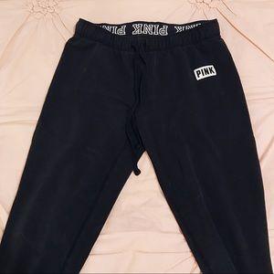 PINK Victoria's Secret Black Leggings
